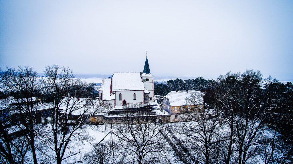Multicopter-Fotografie - Kirche