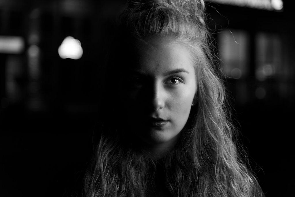 Aufsteckblitz - Portrait