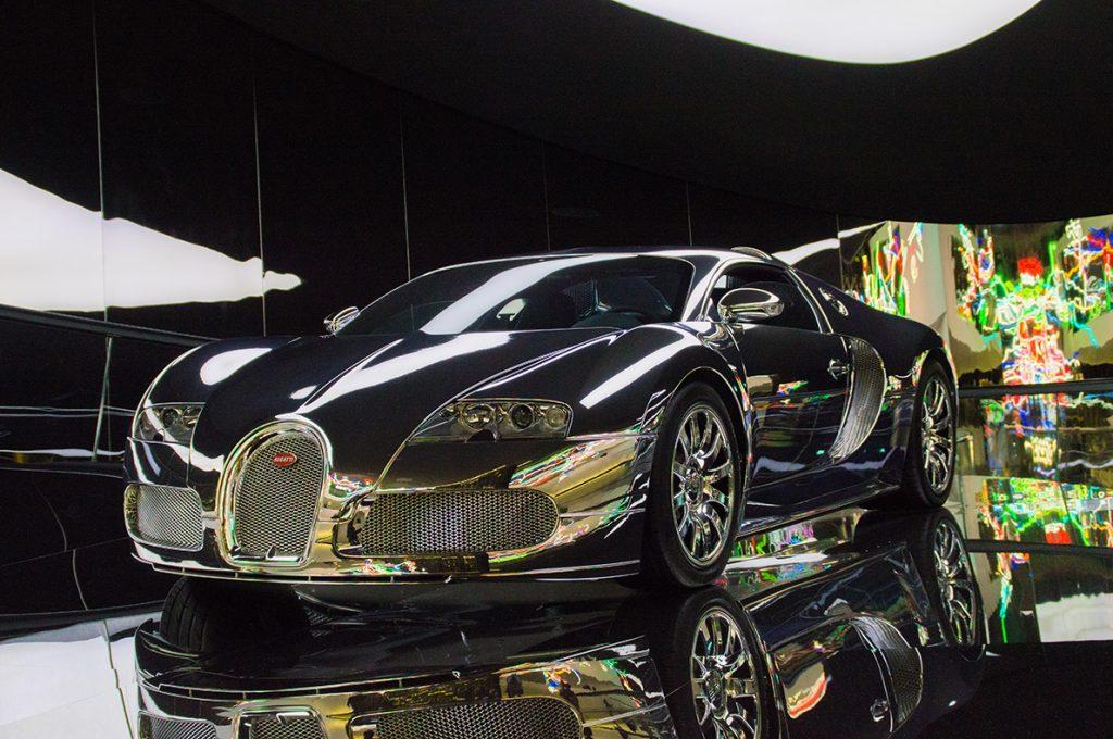 Abbildung 1: Autostadt - Bugatti Veyron