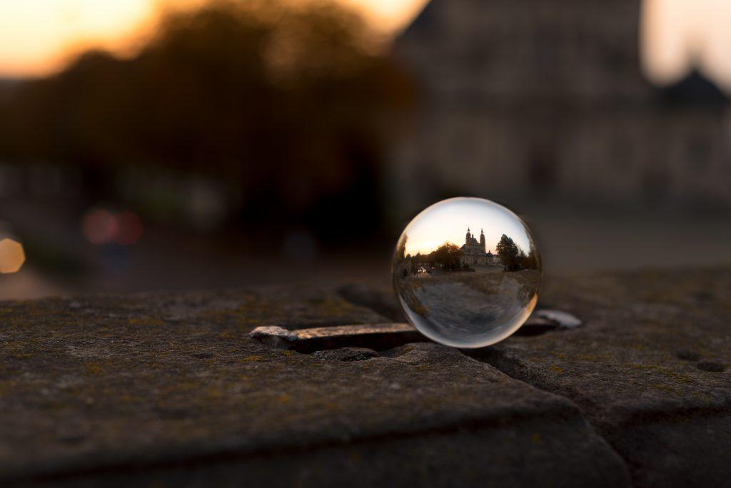 Glaskugel am Fuldaer Dom - fotoblogonline.de