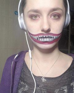Make-Up - Schritt 1