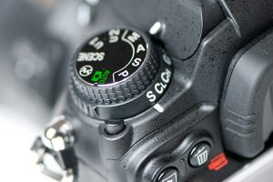 Moduswahlrad Nikon - Foto: neunzehn72.de