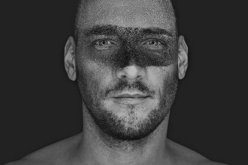 Ein Portrait mit Ringlicht und Kreide