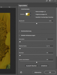 Abbildung 5: Freistellen in Photoshop