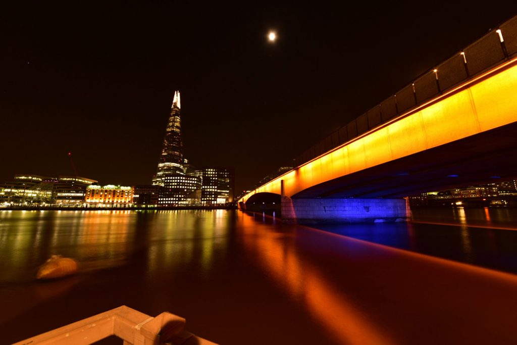 Brücke in London über die Themse - Foto: Lucas