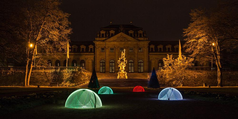 Lightdomes in Fulda